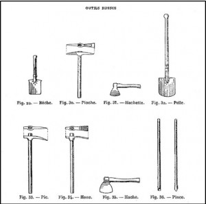 Outils russes