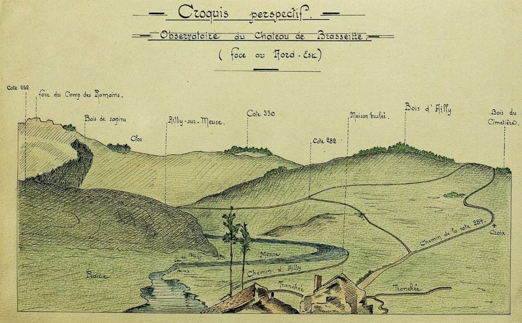croquis perspectif Bois d'Ailly